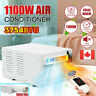 3754BTU 1100W Wall Mini Air Conditioner Cool/Heat Timer Wall Refrigerated&Pipe