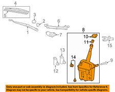 Pontiac GM OEM 09-10 Vibe Wiper Washer-Windshield Fluid-Reservoir Tank 19184593
