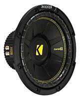 """KICKER CompC104 10"""" Woofer (CWCD104) 25 cm Subwoofer Free Air 500 Watt"""