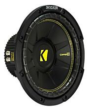 "KICKER 10"" Woofer Compc104 25cm Auto HIFI Subwoofer Bassbox 500 W Max"