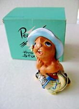 Vintage Pendelfin Whopper Rabbit Figurine Made In England ~ New A3