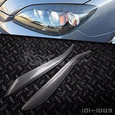 Real Carbon Fiber Eyebrows Eyelids for Mazda 3 Mazda3 Hatchback 5D 5DR 2004-2009