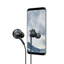 Genuine OEM Samsung S8 S9 S8+ S9+ Note8 Note9 AKG Earphones Earbuds  Black - NEW