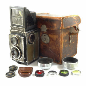 Rolleicord 1 Art Deco Kit with Carl Zeiss 75mm | SERVICED | UK CAMERA DEALER