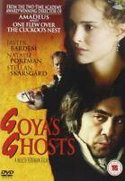 Goya's Goyas Ghosts DVD Javier Bardem Natalie Portman Original UK Rele New R2