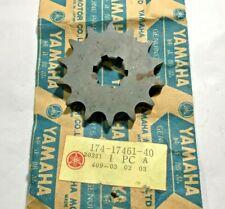 Sprocket T14 Original Yamaha NOS : 174-17461-40
