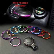 Aluminum Protective Ring For MINI Cooper JCW R55 R56 R57 R58 R59 R60 Key Fob