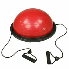 Carnegie Fit Balance Ball - beidseitig nutzbarer Gleichgewichtstrainer mit Zugbä