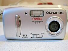 OLIMPUS S-180 camera in a case. Digital camera Olympus.