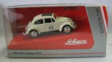 Model Car VW Volkswagen Beetle Rallye #53 Herbie metal DieCast 1/64 Schuco