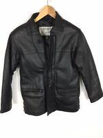 VALLENTINO Jacke, Lederjacke, schwarz, Größe S
