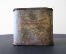 Portugal - Gunpowder Tin Can Box, Barcarena - *TIN AND CARDBOARD - V RARE TYPE*