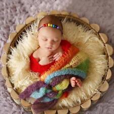 Newborn Baby Girl Boy Crochet Wrap Cocoon Swaddle Photography Photo Props