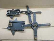 1940 -48 REAR 4 DOOR WINDOW REGULATOR PLYMOUTH DODGE DESOTO CHRYSLER MOPAR PAIR