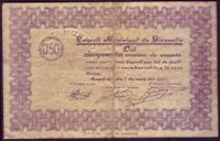 Banknotes Local - Gironella 50 Cents Year 1937 - Without Series