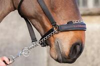 LeMieux CONTROLLER Chain HEADCOLLAR Pro-Safe Strong Black Nylon Pony/Cob/Full/XF
