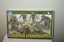 MAQUETTE  SOLDAT ALLEMAND GERMAN STURMTRUPPEN ITALERI 1/35 MODEL KIT NEUF 2002