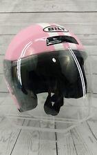 Ladies Custom Bilt Pink Motorcycle Helmet - Size EXTRA SMALL XS