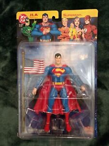 "DC Direct Justice League of America 7"" Superman, Series 1, NIB!"