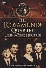 "DVD NEUF ""THE ROSAMUNDE QUARTET : CELIBIDACHE'S HERITAGE"""