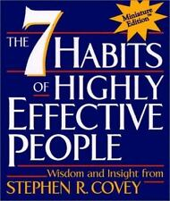 The 7 Habits of Highly Effective People by Stephen R. Covey (2000, Hardcover)