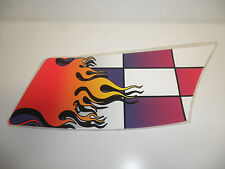 Custom Snowmobile Flame Hood Decal Stickers - Part Mm0013