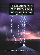 Fundamentals of Physics by David Halliday, Robert Resnick, Jearl Walker (Hardba…