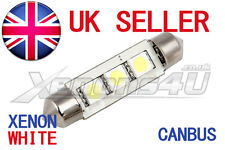 1x 44mm WHITE SMD LED INTERIOR FESTOON LIGHT BULB Skoda Octavia 1U 1Z Fabia 1 2