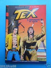 tex n. 4 collezione storica a colori il rapimento di lilyth fumetti repubblica