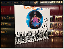 Cold Fact ✎SIGNED✎ by SIXTO RODRIGUEZ Searching For Sugar Man Music Legend CD