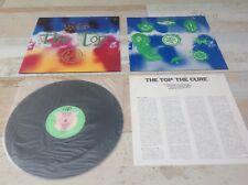 "THE CURE - THE TOP - RARE JAPANESE 12""  VINYL 33 LP - VAP 35117-25 Robert Smith"