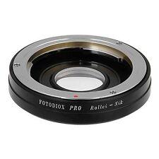 Fotodiox Objektivadapter Pro Rollei 35mm Linse für Nikon Kamera