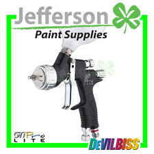 Devilbiss GTI PRO LITE Black 1.3mm with 2 AirCaps TE10 & TE20 Complete Spray gu
