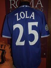 ZOLA CHELSEA 1999/2000 MAGLIA SHIRT CALCIO FOOTBALL MAILLOT JERSEY SOCCER