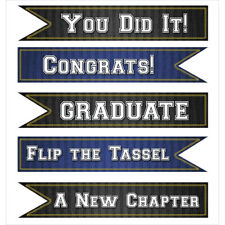 Jolee's Seasonal Stickers-Graduation Banners Assorted