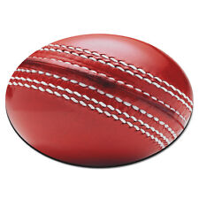 CRICKET BALL Circle PC Computer Mouse Mat Pad Sport Funny