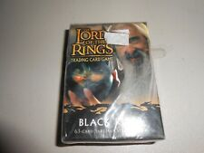 Factory Sealed Lord of the Rings CCG Black Rider Saruman Starter Deck
