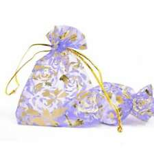 25/50/100/200/500pcs Premium Organza Bag 7x9cm Wedding Party Gift Jewelry Pouch