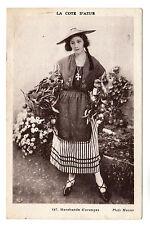 Marchande D'Oranges La Cote D'Azur Photo Postcard 1920s