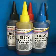 5x100ml Refill Printer Ink Epson Expression XP 610 615 620 625 INCL. PHOTO BLACK