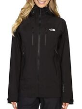 Women's North Face Black Dihedral Gore-Tex Shell Jacket M New $599