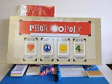 Photo Opoly Parts NEW Dice Markers Cards Money Tokens Pens Labels Sealed Game