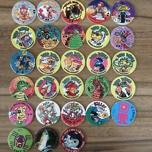 Slammers World Pog Federation Pogs Waddingtons Various