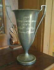 Antique 1929 Silver Plate Golf Trophy Loving Cup WGC Ohio