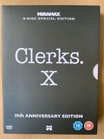 Clerks DVD 1993 Jay + Silenzioso Bob Cult Commedia Classico Anniversario