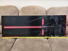 Star Wars The Black Series Kylo Ren Force FX Deluxe Lightsaber - Brand New