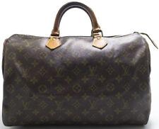 Louis Vuitton Speedy 35 Tasche Bag Zeitlos Timeless Boston Bag Handtasche USED P