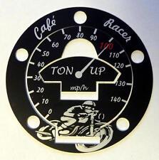 Tank gas cap cover Triumph Trident Sprint Sport Trophy 750 900 1000 1200 Alu