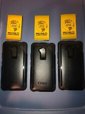 Lot Of 3pc Authentic Otterbox Commuter Series Cover Case for HTC One Max Black