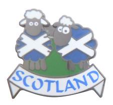 Scotland Patriotic Saltire Sheep Pin Badge
